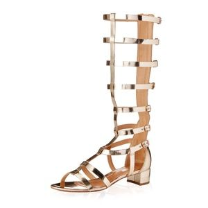 SCHUTZ Fuencisla Sandal in Gold